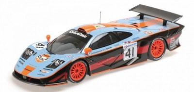 Raphanel/Gounon/Olofesson Mclaren F1 GTR Le Mans 24H 1997 GT1 Winner #41