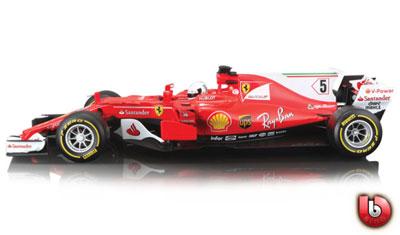 Sebastian Vettel 2017 F1 Ferrari Team #5
