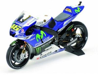 Valentino Rossi Yamaha YZR-M1 Yamaha Factory Racing  Motogp 2014