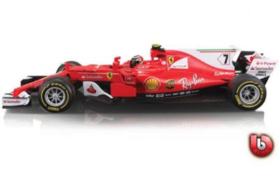 Kimi Raikkonen 2017 F1 Ferrari Team #7