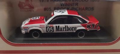 Peter Brock/Jim Richards Holden Torana A9X Hatchback 1978 Bathurst Winner #05 DECALED