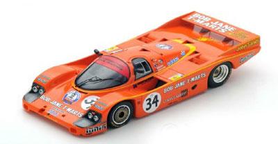 Peter Brock/Larry Perkins Porsche 956 No.34 Le Mans 1984