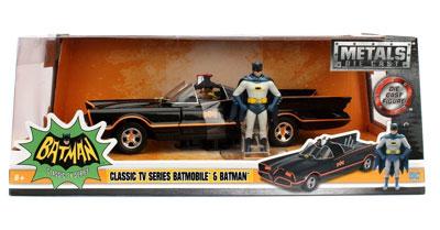 Batman, Classic TV series Batmobile with Batman figurine
