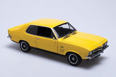 Holden Torana LC GTR XU-1 Yellow Dolly