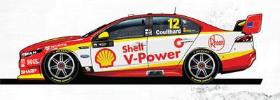 Fabian Coulthard Ford FGX Falcon - 2018 Shell V-Power Racing Team / DJR Team Penske