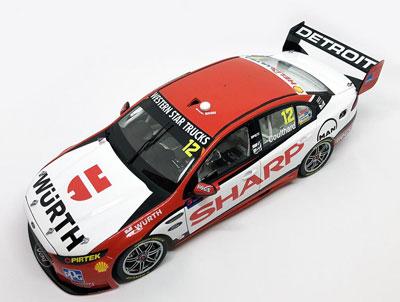 Fabian Coulthard Ford FGX Falcon 2016 Sydney 500