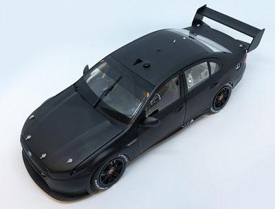 Ford FGX Falcon Supercar Matte Black Plain Body Edition