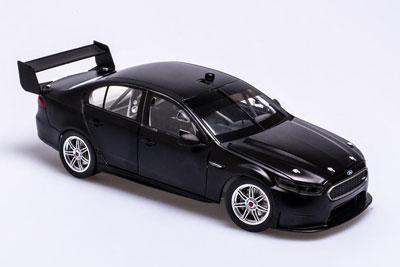 Ford FGX Falcon Supercar Black Plain Body Edition