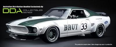 Allan Moffat 1969 Ford Boss 302 Trans Am Mustang # 33 BRUT