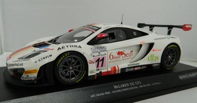 Leclerc/Parisy/Soucek McLaren 12C GT3, 24hr Spa 2013