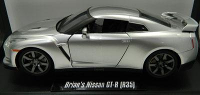 Fast n Furious Brian's Nissan GT-R R35, Silver