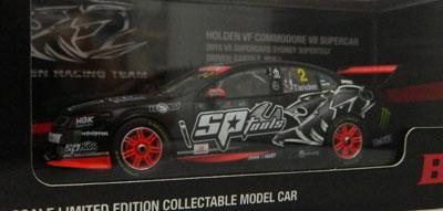 Garth Tander HRT Holden Commodore, 2015 Sydney Super test