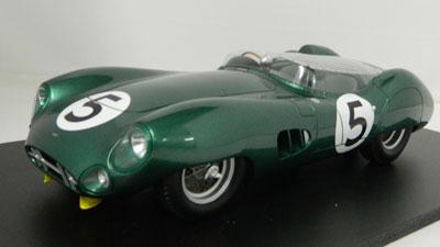 Salvadori/Shelby Aston Martin DBR1 LeMans 24H 1959 Winner #5