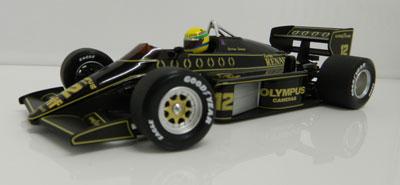 Ayrton Senna Lotus 97T, 1985