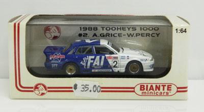 Allan Grice/Win Percy 1988 Tooheys 1000 #2