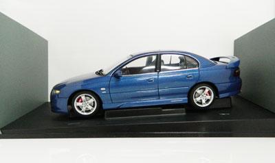 HSV 15th Anniversary 2002 Holden VX Commodore R8 Clubsport in Delft Blue