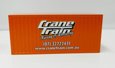 Crane Train Container