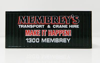 Membrey's container