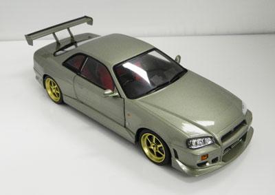 1999 Nissan Skyline GT-R R34 Jade