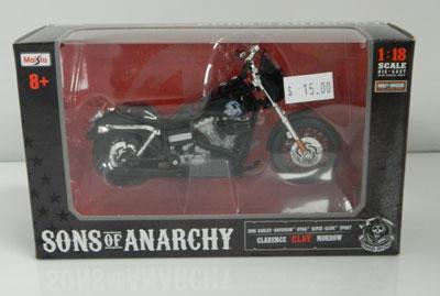 Sons of Anarchy 2008 Harley Davidson DYNA Super Glide Sport