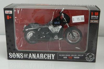 Sons of Anarchy 2006 Harley Davidson FXDBI DYNA Street Bob