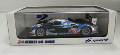 Brabham/Gené/Wurz Peugeot Le Mans 24H 2009 Winner #9