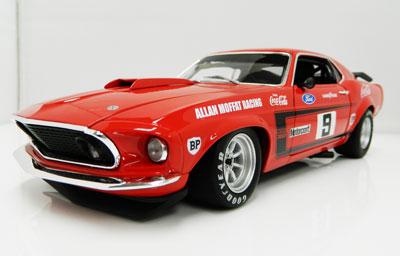 Allan Moffat 1969 Ford Mustang