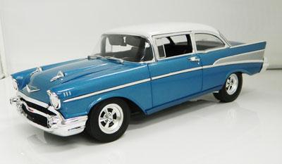 Chevrolet 1957 Bel Air Hot Rod Blue