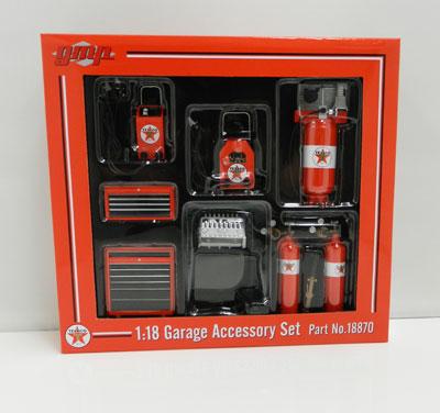Texaco Garage Accessory Set
