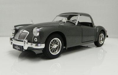 MGA 1957 MKI Gunmetal Grey Hardtop