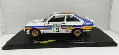 T. Makinen/M.Holmes Ford Escort RS 1800 RAC RAlly 1980