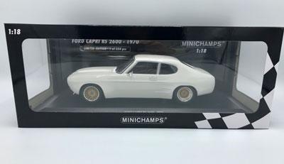 Ford Capri RS 2600 White