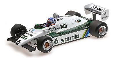 Keke Rosberg Williams Ford FW08 #6 winner Swiss GP World Champion