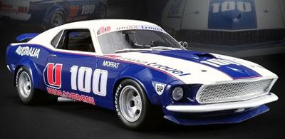 Allan Moffat 1969 Ford Boss 302 Trans Am Mustang #U100 RAR