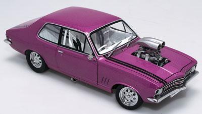 "Holden LC Torana GTR Street machine, ""Heretic"" Polyanna Pink"