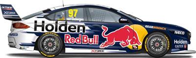Shane van Gisbergen's 2018 Red Bull Holden Racing Team Holden ZB Commodore