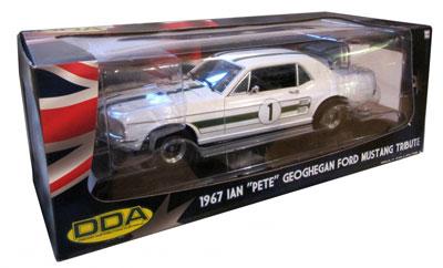 "Ian ""Pete"" Geoghegan Ford Mustang Tribute 1967"