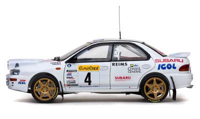 Begun/Tilber Subaru Impreza 555 -Rally Monte-Carlo 1996