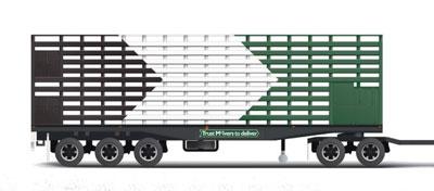 Livestock Road Train Trailer