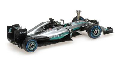 Nico Rosberg Sindelfingen Demonstration run World Champion 2016