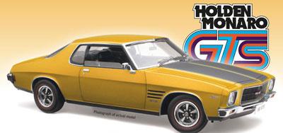 Holden HQ GTS Monaro - Mustard