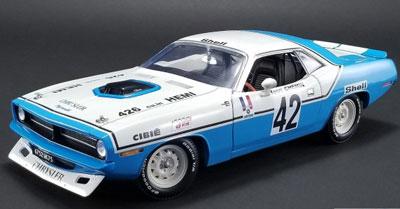 Henri Chemin Plymouth Hemi Cuda No 42 1970 Chrysler Of France