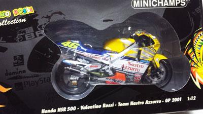 Valentino Rossi, Honda NSR500, Nastro Azzurro, GP 2001