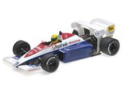 Ayrton Senna - Toleman Hart TG184 1984 Monaco GP