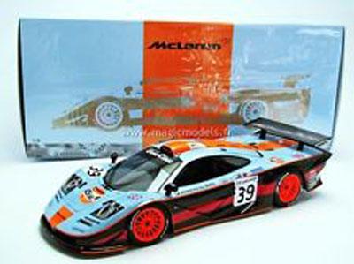 Bellm/Gilbert-Scott/Sekiya Mclaren F1 GTR Le Mans 24H 1997 #39