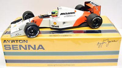 Ayrton Senna Mclaren Honda MP4/7 1992