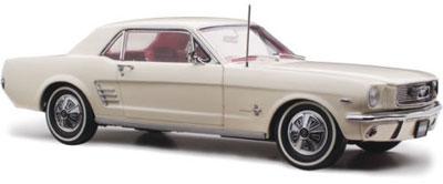 Ford Mustang 1966 Pony Wimbledon White RHD