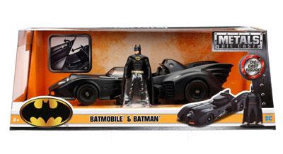 Batmobile with Diecast Batman Figure - Batman (1989)