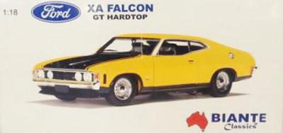 Ford Falcon XA GT Hardtop Yellow Fire