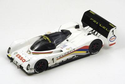Dalmas/Blundell/Warwick Peugeot Le Mans 24H 1992 Winner #1